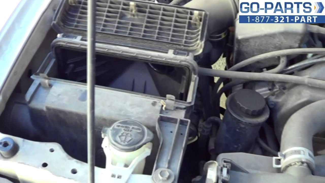 Replace 19962002 Toyota 4Runner Air Filter How to Change