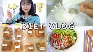 [다이어트 브이로그] 집순이의 맛있는 다이어트 식단_쭈…