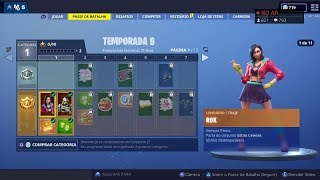 BUYING the NEW BATTLE PASS season 9 FORTNITE LIVE