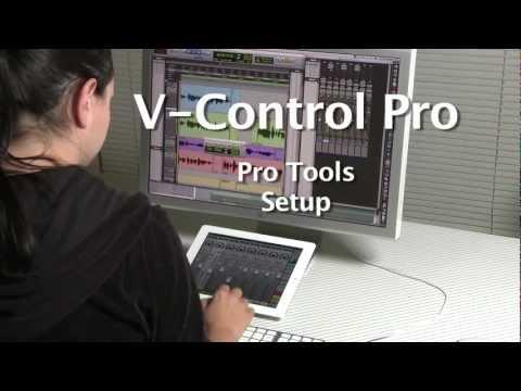 V-Control Pro - Pro Tools Setup