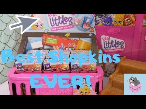 NEW SHOPKINS REAL LITTLES!! | Full Case of the BEST Shopkins EVER Season 12 Shopkins