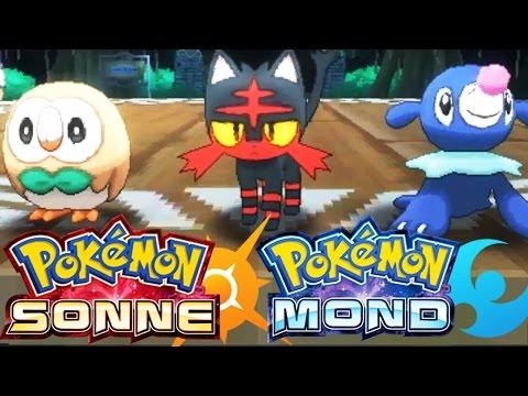 Pokémon Sonne / Mond Trailer ★ Alola-Region, Starter- & Legendäre Pokémon!