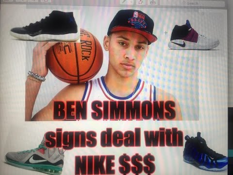 WOYO - BEN SIMMONS signs sneaker deal with NIKE  $$$