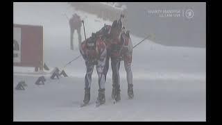 Biathlon Verfolgung der Männer in Khanty-Mansiysk 2013