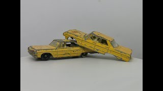 Matchbox No 20 Chevrolet Impala Taxi - Lowrider Custom!