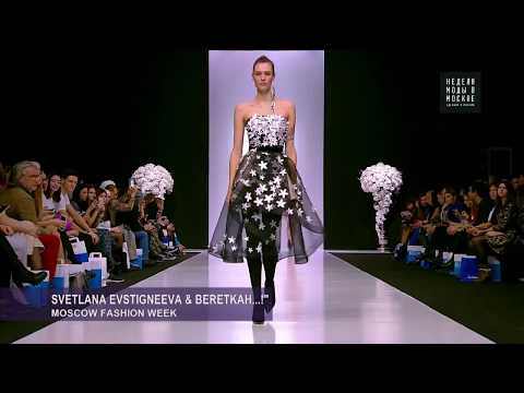 BeretkAh...! and Svetlana Evstigneeva at Moscow Fashion Week, SS 18