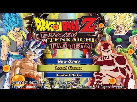 New Best Epic DBZ TTT MOD BT4 ISO + Permanent Menu With New Gogeta And Broly DOWNLOAD - 동영상