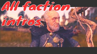 total War Warhammer. All faction intros. The Old World Grand Campaign