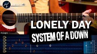 """Cómo tocar """"Lonely Day"""" de S.O.A.D. En Guitarra Acústica (HD) Mario Freiria y Christianvib"""