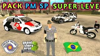 GTA SA Android Mod Pack da POLÍCIA BR