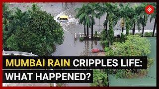 Mumbai Rain Cripples Life What happened