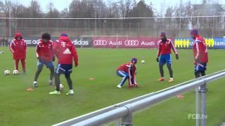 Смешные моменты игроков Баварии