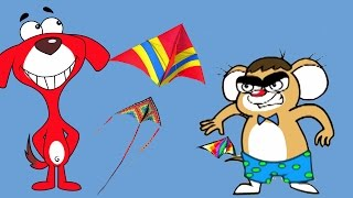 rat a tat   chotoonz kids cartoon videos   kites away