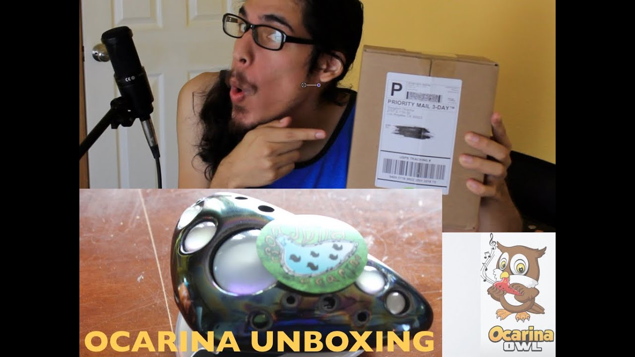 UNBOXING || SONGBIRD OCARINA OF LIGHT (Ocarina de Luz de Songbird Ocarina)