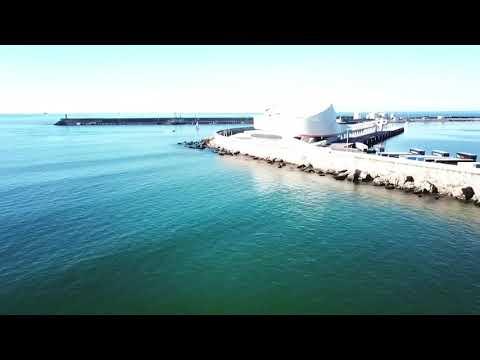 Scenic view on a Portuguese beach