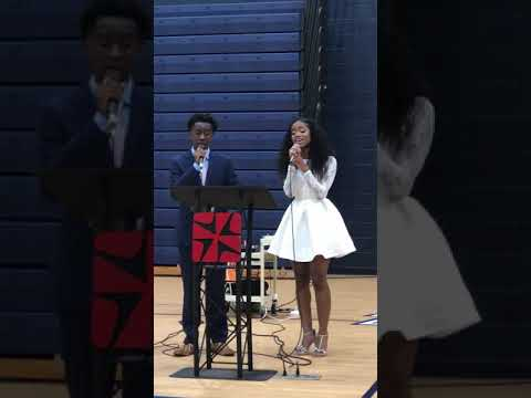 The Prayer - Celine Dion & Andrea Bocelli (Cover) By Madisyn Elise & Zion Middleton