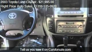 2003 Toyota Land Cruiser (NATL) - for sale in Idaho Falls, I
