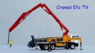 Conrad MAN TGS + Putzmeister M 38-5 Concrete Pump by Cranes Etc TV