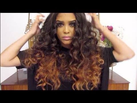 how to style curly hair for work how to big curly hair grwm for work 5057