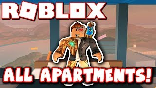 Buying all the apartments!! (roblox jailbreak - apartment update)