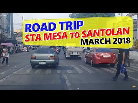 Sta Mesa, Manila to Libis, Quezon City ◈ City Tour