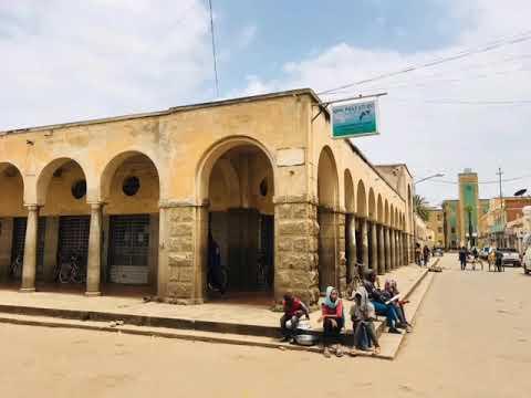 Mercato Food Market in Asmara, Eritrea