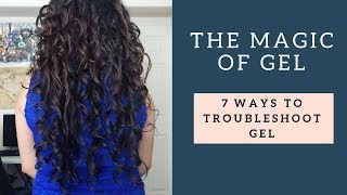 Problems with gel + curly wavy hair & ways to fix them - Bonus diffusing demo & tips Pixie diffusing