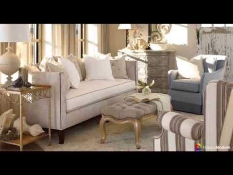 Интерьер гостиной в стиле прованс - создаем уютную сказку
