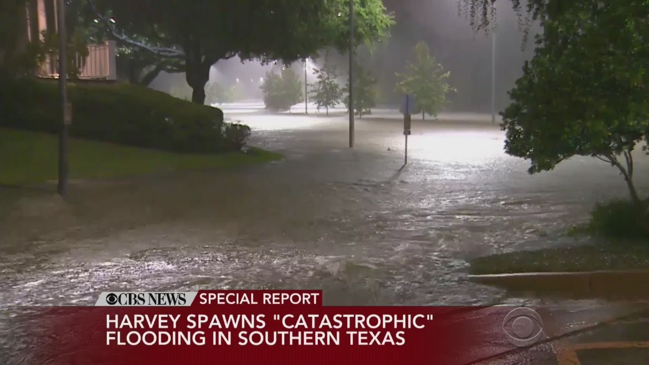 CBS News Special Report: Latest On Hurricane Harvey - YouTube