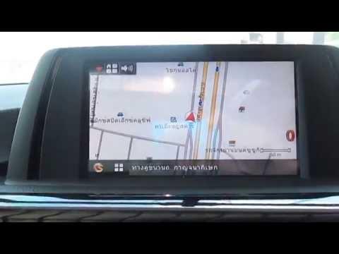 BMW 320D ติดตั้ง GPS นำทางแผนที่ประเทศไทยไม่เปลี่ยนจอไม่ติดปุ่มเพิ่ม