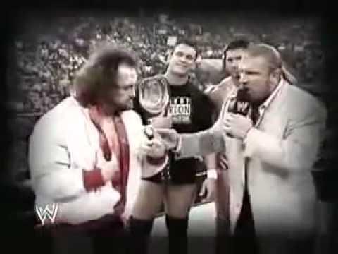 Triple H vs Chris Benoit Vengeance 2004 promo