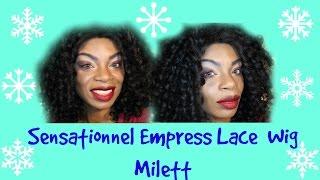 Sensationnel Empress Lace Wig Milett