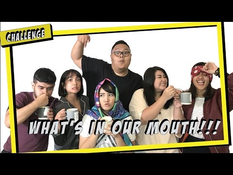 WHATS IN OUR MOUTH CHALLENGE WITH REZA CANDIKA & CIA WARDHANA | Samsolese