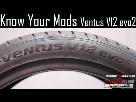 Know Your Mods Ep4 : Tires - Hankook Ventus V12 evo2