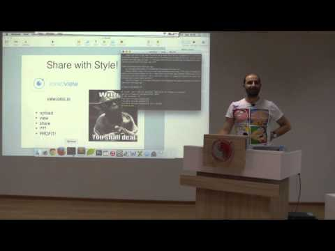 Oto Meskhy - Hybrid Mobile Apps with Ionic Framework