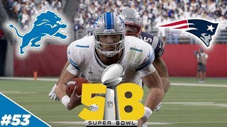 Lions Play in 1st Ever Super Bowl!!  - Detroit Lions | Madden NFL 20 - Ep 53