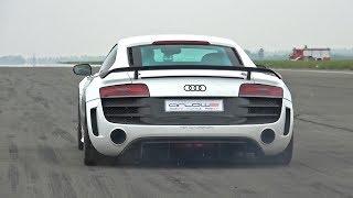 1050HP Audi R8 GT V10 Twin Turbo - LOUD Revs & 0-302 km/h Acceleration!