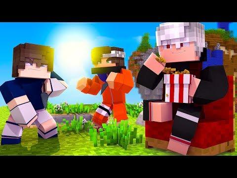 Minecraft: NARUTO C - BRIGA ENTRE PRIMOS !!! ESCADÃO ‹ Ine ›
