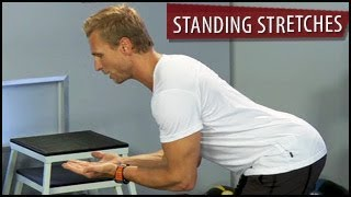 Standing Stretches: Arms & Lower Back | Cool Down- Steve Jordan