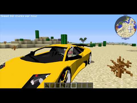 Minecraft Alcara Cars