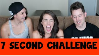 7 Second Challenge ft. Josh and Colleen