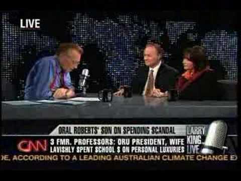 ORU LAWSUIT Larry King Live Pt.1, 10/09