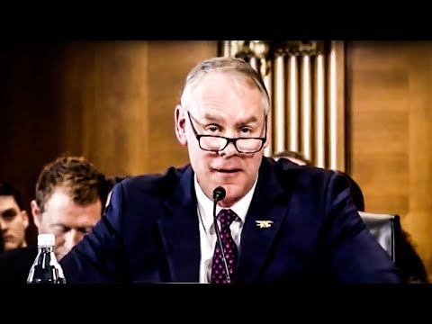 Ryan Zinke Makes A TOTAL Ass of Himself After Being Questioned On Private Plane Use