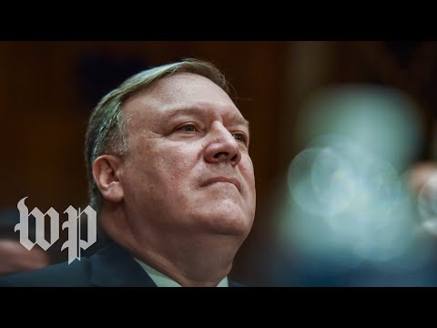 Senate votes on the nomination for Mike Pompeo