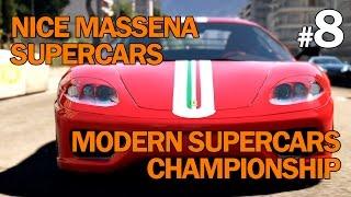 Forza Horizon 2 - Walkthrough Part 8 - Nice Masséna - Supercars - Modern Supercars Championship