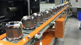 Electric Motor FACTORY - HOW IT'S MADE a Industrial Motor Assembly
