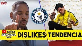 5 RECORDS GUINESS De YOUTUBERS Que Nadie Podrá Superar | El Demente, Youtube Rewind 2018