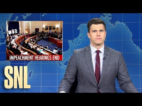 Weekend Update: End of Impeachment Hearings - SNL