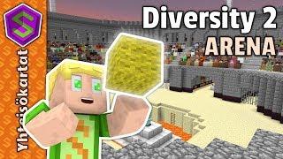 Aloitus Areenalla! | Minecraft Diversity 2 #1