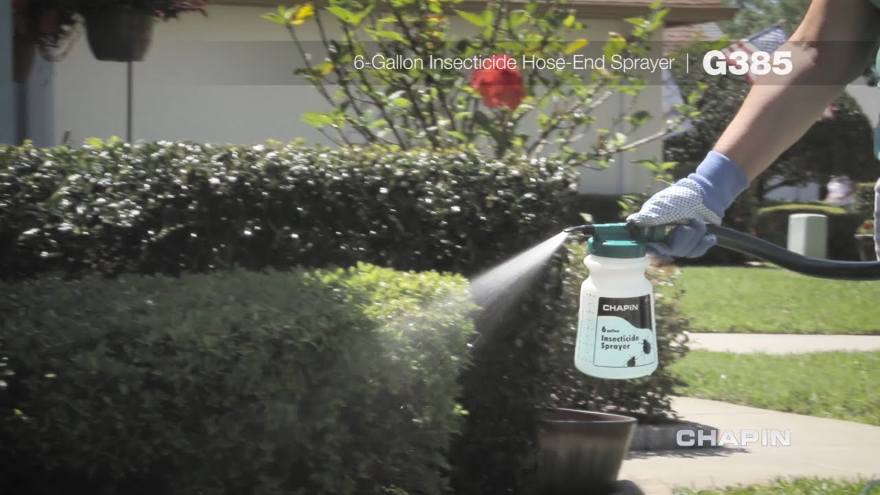 chameleon hose end sprayer instructions